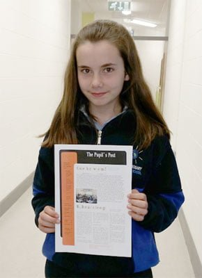 The Pupils Post Second Edition editor Orla September 2013
