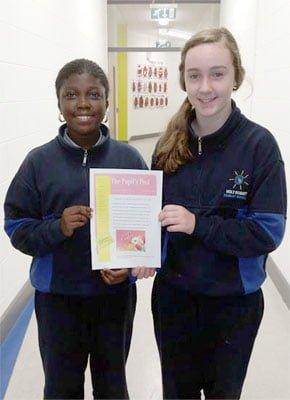 The Pupils Post Easter Edition edited by Faith & Elin